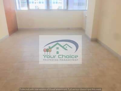شقة 1 غرفة نوم للايجار في آل نهيان، أبوظبي - Affordable Apartment 1 Bedroom 1 Bathroom w/ wardrobe in Al Nahyan Mamora 45000/year 4 payments