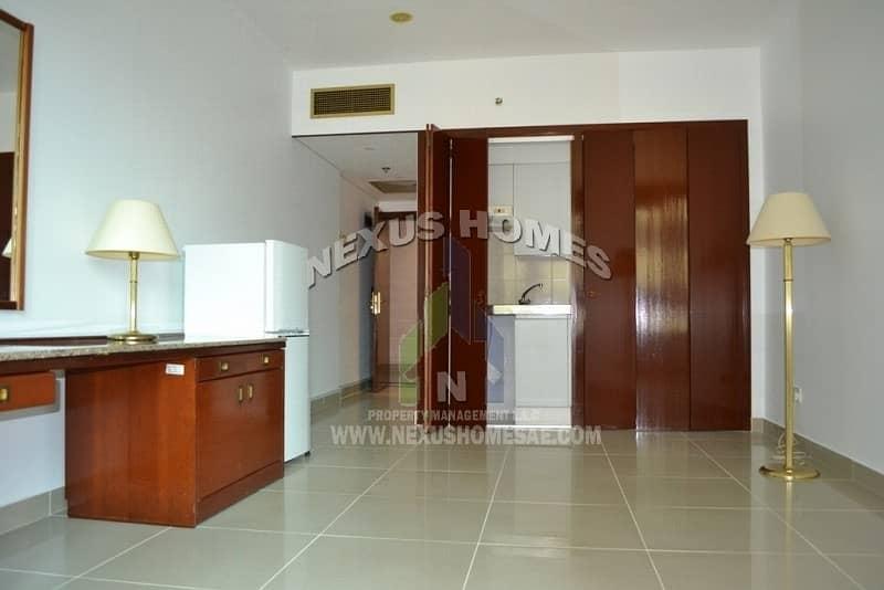 Studio With Open European Kitchen in Corniche  AUH
