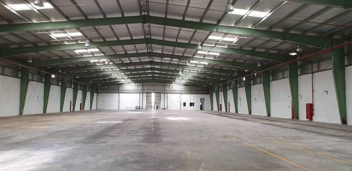 32600 Sq Ft Warehouse with FEWA CONNECTED available in EMIA UAQ - KB