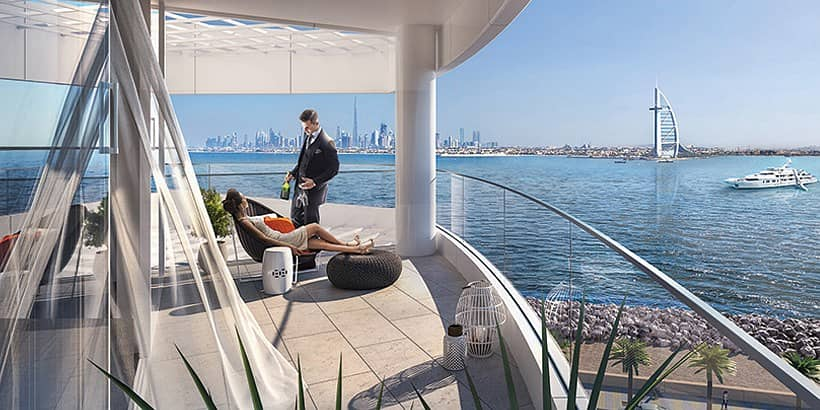 19 Premium 2 BR   Azizi Mina   Burj Al Arab View