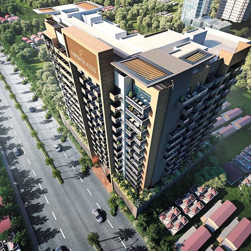 Invest for a Fully Furnished Hotel Apartment in Al Furjan, Azizi Plaza