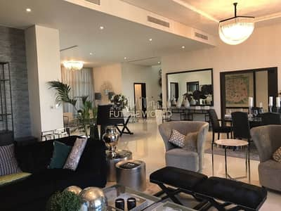 6 Bedroom Villa for Sale in DAMAC Hills (Akoya by DAMAC), Dubai - Brand New-Serviced Villa 5BR Fully Furnished