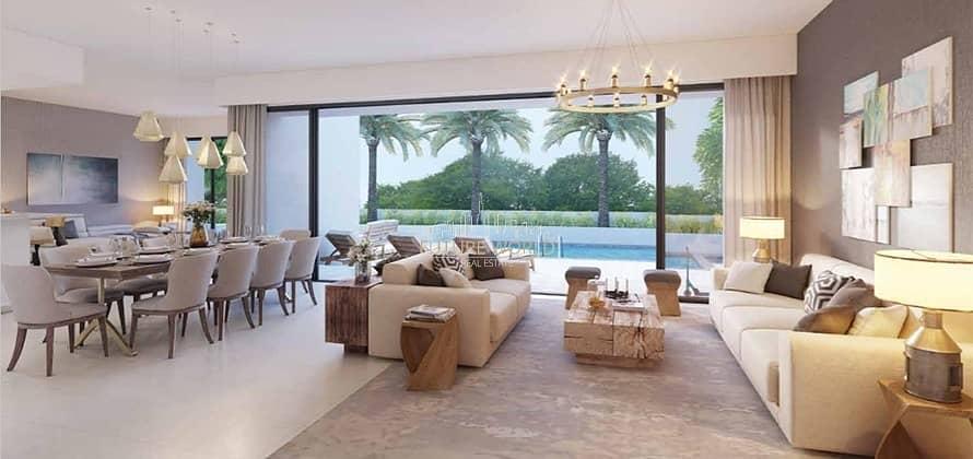 Hot Deal-Brand New 4 Bedrooms Villa+Maid