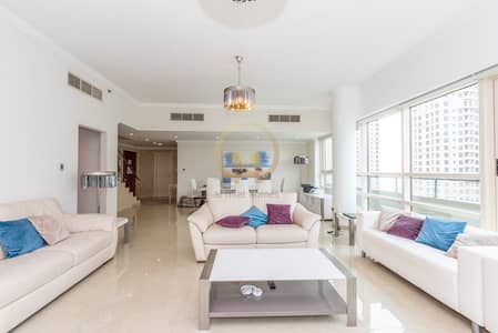 3 BR + Maids | Full Marina View | Furnished