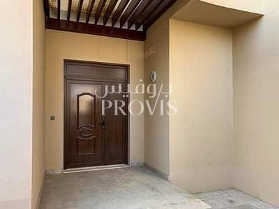 فیلا 5 غرفة نوم للايجار في حدائق الجولف في الراحة، أبوظبي - Super Customized Villa with Pool in Golf Gardens!