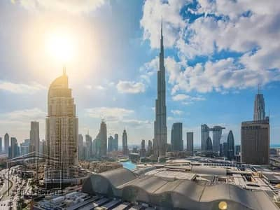 فلیٹ 1 غرفة نوم للبيع في وسط مدينة دبي، دبي - Full Burj Views