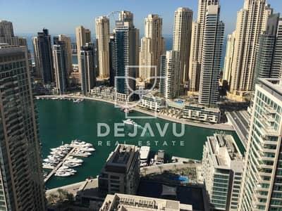 3 Bedroom Apartment for Sale in Dubai Marina, Dubai - Beautiful 3 Duplex Apartment with full Marina View