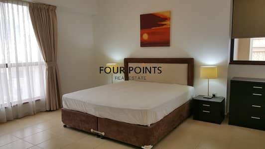 1 Bedroom Apartment for Rent in Jumeirah Beach Residence (JBR), Dubai - Sea View Furnished 1 BR in Sadaf 6 JBR