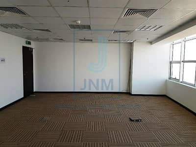 Office for Rent in Jumeirah Lake Towers (JLT), Dubai - Carpeted Office Space For Rent Mazaya Bb1