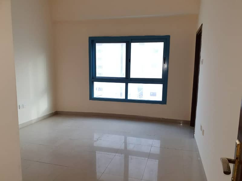 Luxurious 2bhk with wardrobes 3baths 6 cheques in al nahda area.