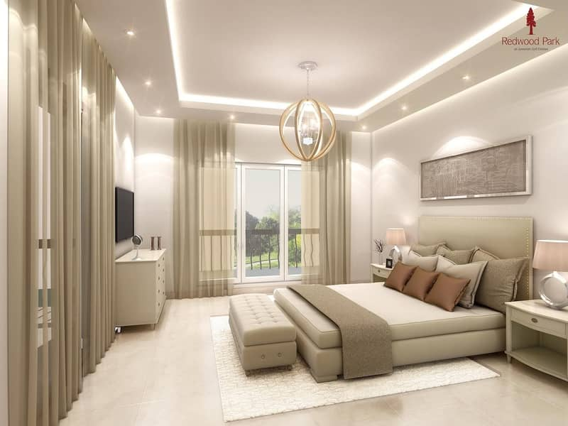 4% DLD Waiver  4BR+M Townhouse in Jumeirah Golf Estate