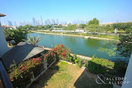 4 Bedroom Villa for Sale in Jumeirah Islands, Dubai - Family Villa l Lake view l  Skyline View