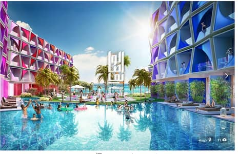 Studio for Sale in The World Islands, Dubai - Owned a hotel apartment in the world Islands  by installment...