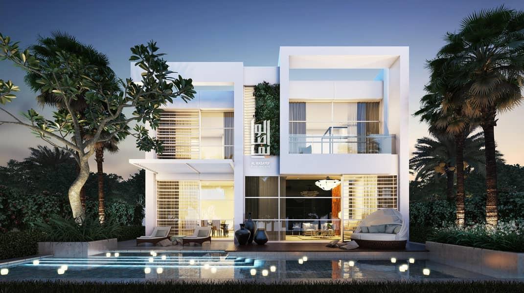 Own luxury Villa  at a price 1.7 M in Dubailand..