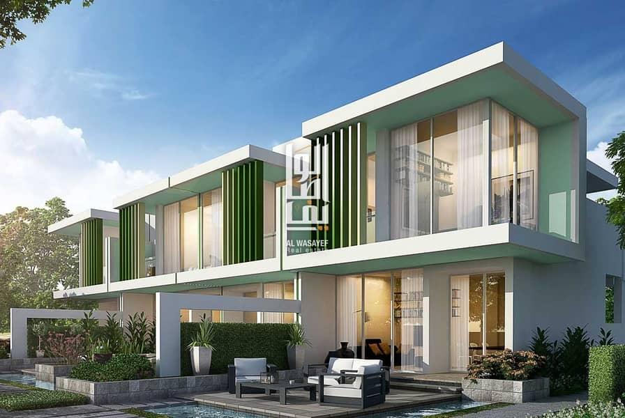10 Own luxury Villa  at a price 1.7 M in Dubailand..