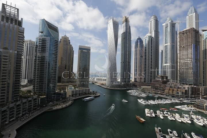 10 1 bedroom apartment with lovely Marina view
