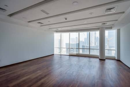 Office for Rent in Business Bay, Dubai - Fitted office | High Floor | Park Lane