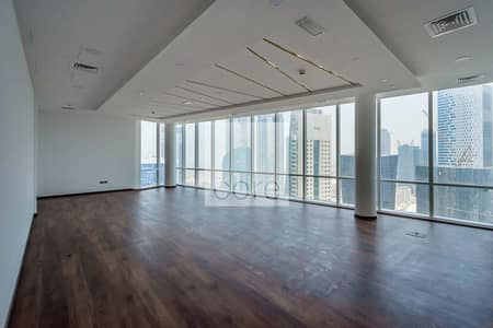 Office for Rent in Business Bay, Dubai - Fitted Unit | High Floor | Prime Location
