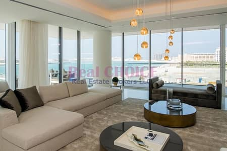 1 Bedroom Apartment for Sale in Palm Jumeirah, Dubai - Luxury Exclusive Beachfront Property|Brand New 1BR