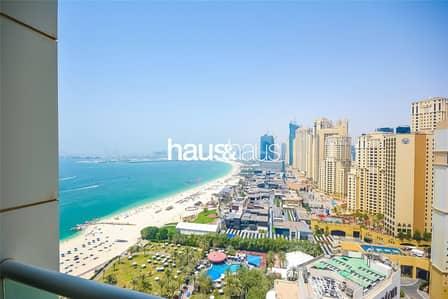 1 Bedroom Flat for Sale in Jumeirah Beach Residence (JBR), Dubai - Sea and JBR view | One bed | Al Bateen Residence
