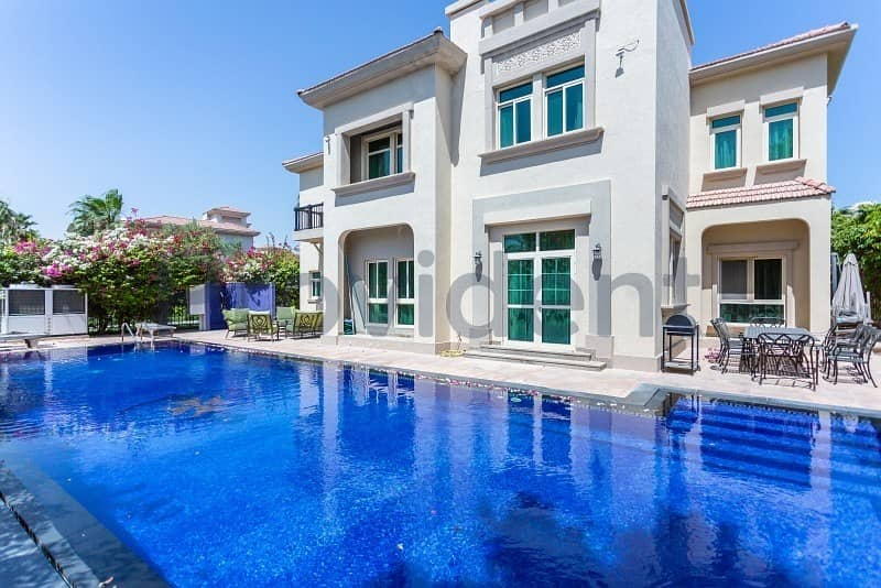 Fully Furnished 4BR with Infinity Pool