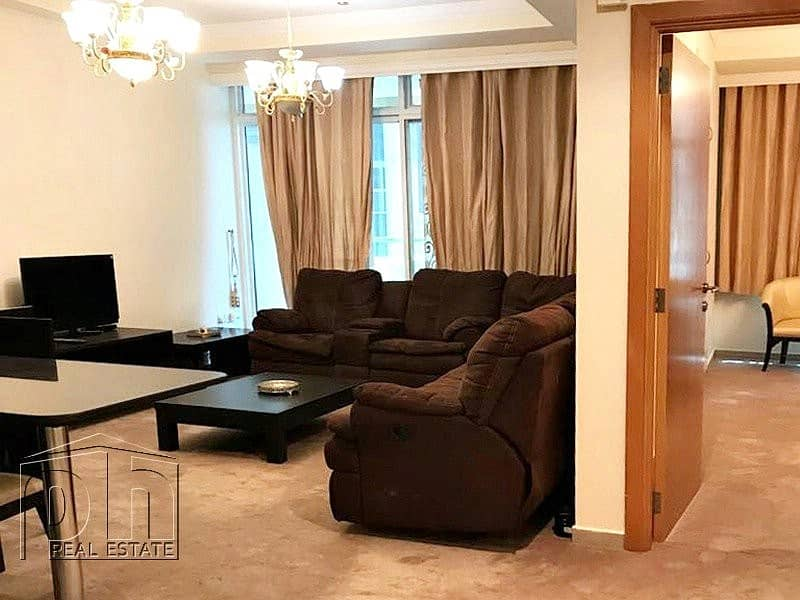 Large furnished 1 bedroom / good location / vacant