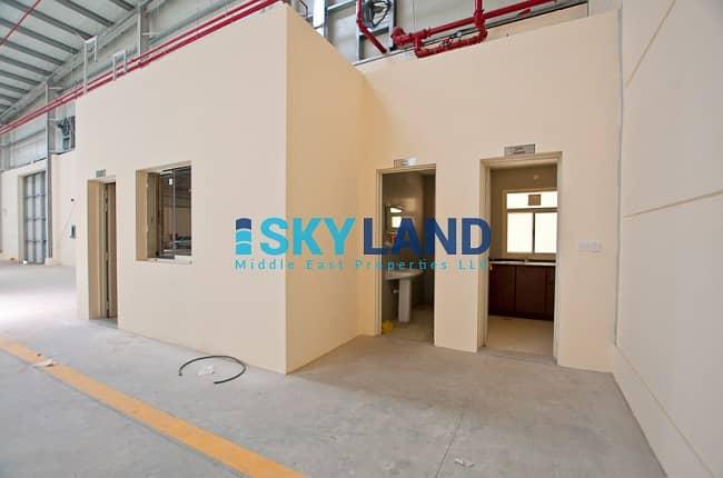 2 High Power Warehouse + office, pantry, washroom