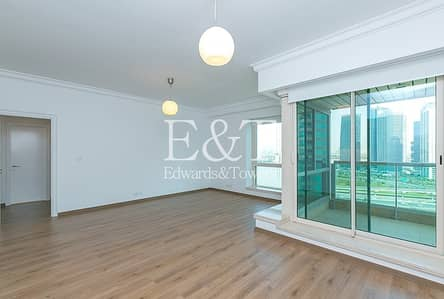1 Bedroom Flat for Rent in Dubai Marina, Dubai - EXCLUSIVE 1BR +S Refurbished UNFURNISHED