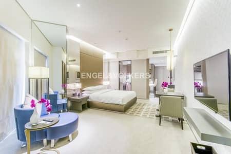 Hotel Apartment for Rent in Bur Dubai, Dubai - Ultra Luxury| New Studio Fully furnished
