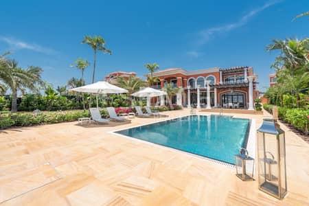7 Bedroom Villa for Sale in Palm Jumeirah, Dubai - A Massive Plot | 22 Carat Mansion Villas