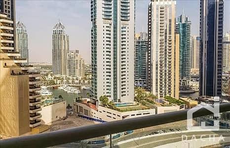 Studio for Rent in Dubai Marina, Dubai - Very bright unfurnished studio for amazing price