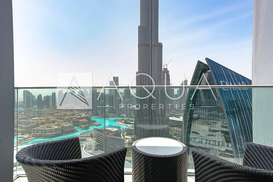 Luxurious   Burj Khalifa and Fountain View