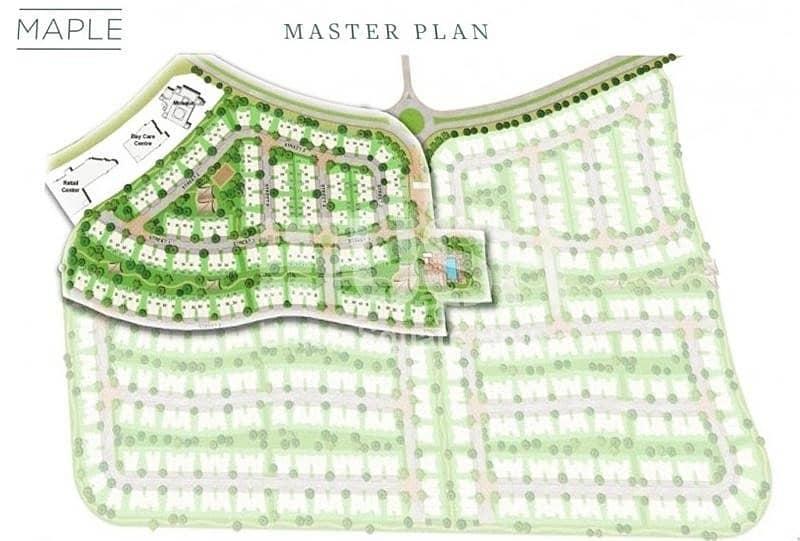 10 Bigger Plot Size | No commission | Maple | Dubai Hills Estate