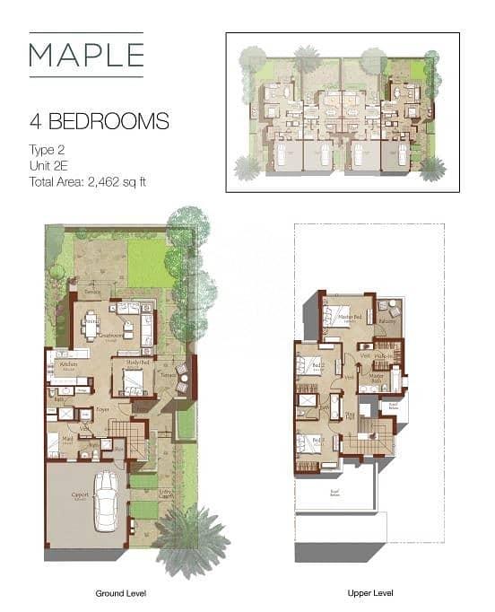 2 No Commission | Great View | 4 BR Villa | Maple | Dubai Hills Estate.