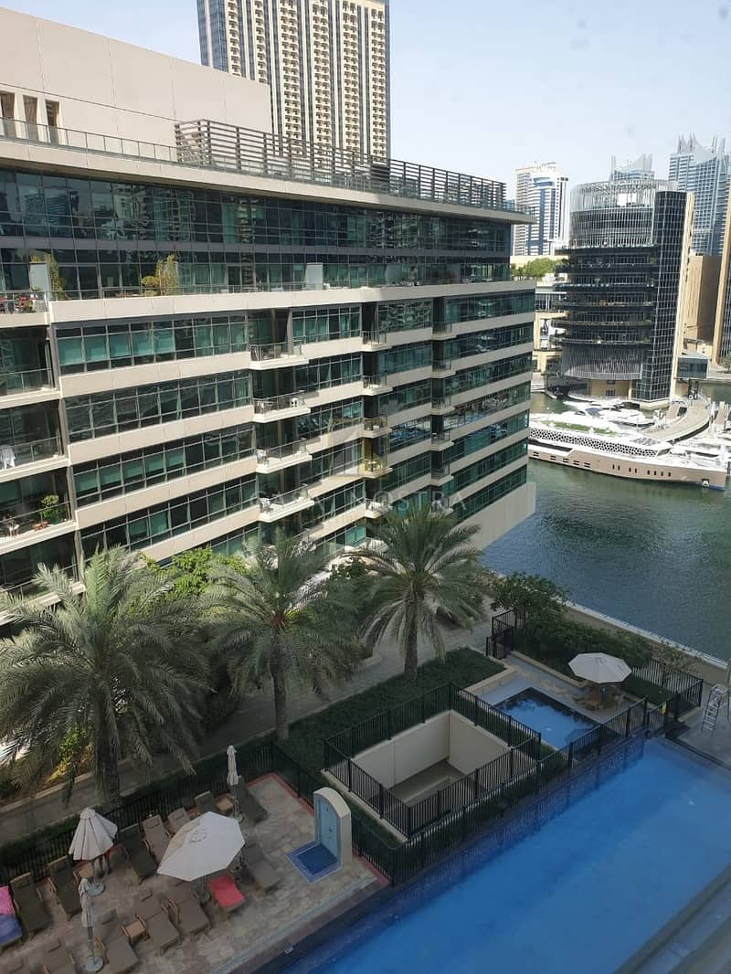 Marina and Pool View Vacant 1BR Marina Quay West