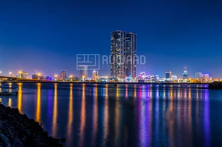 1 Bedroom Flat for Rent in Dafan Al Nakheel, Ras Al Khaimah - Amazing 1 Bedroom for Rent in Julphar Towers