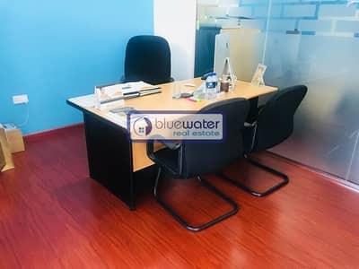 Office for Rent in Dubai Marina, Dubai - Fitted Office Space For Rent in Dubai Marina