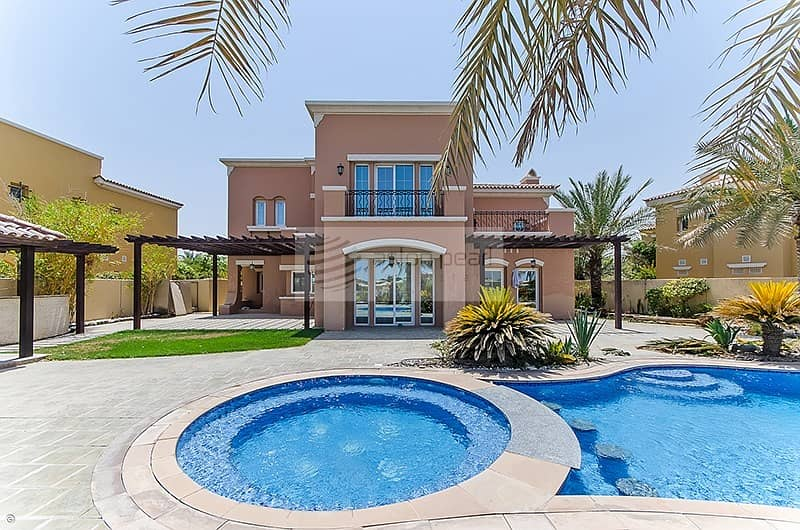 2 Full Golf Course View | Private Pool and Garden