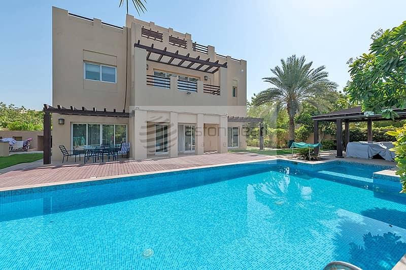 Beautifully Upgraded   5BR+M Villa   Large Pool