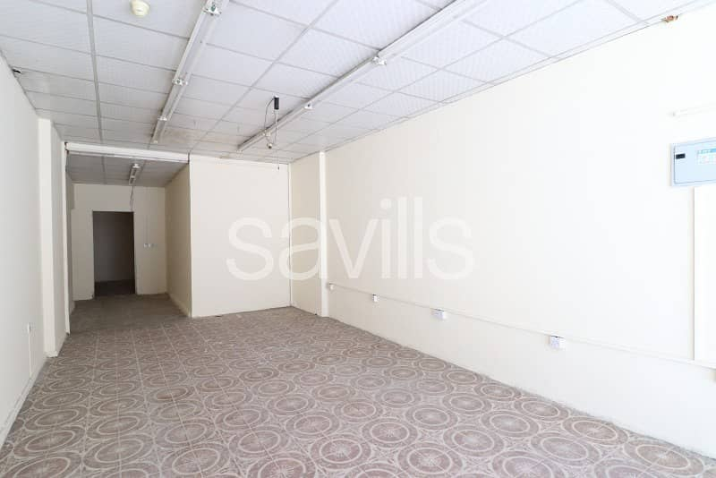 18 Retail Spaces available in Al Mujarrah