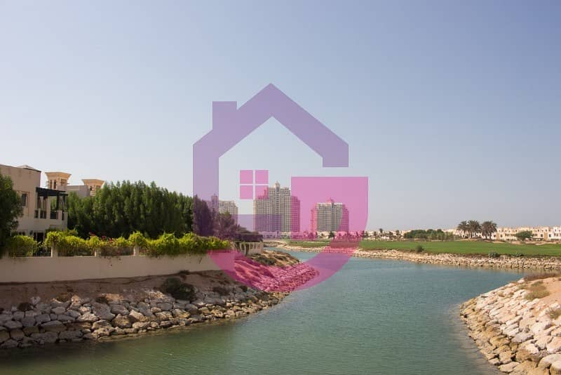 Townhouse with Full Lake and Golf Course View in Al Hamra