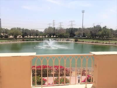2 Bedroom Villa for Sale in The Springs, Dubai - Full lake View 2 Bed Plus Study Type 4E Vacant