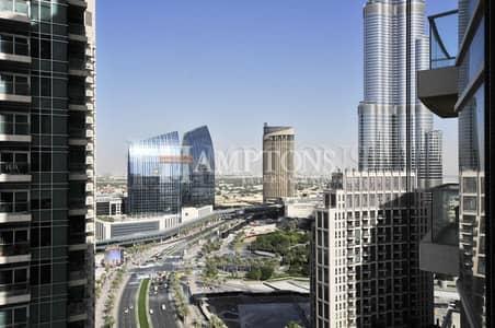 فلیٹ 1 غرفة نوم للبيع في وسط مدينة دبي، دبي - Great Investment | Rented | Burj Khalifa view