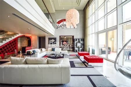 بنتهاوس 4 غرفة نوم للايجار في نخلة جميرا، دبي - Incredible   New Listing   F. Furnished Sky Palace