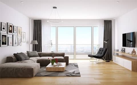 1 Bedroom Apartment for Sale in Abu Shagara, Sharjah - Owen Now one bedroom in first smart tower in sharjah & payment plan for 6 years .