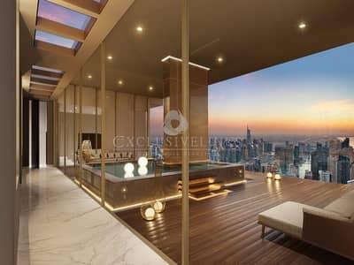 4 Bedroom Penthouse for Sale in Dubai Marina, Dubai - Penthouse in Marina Gate 2 with Full Marina View