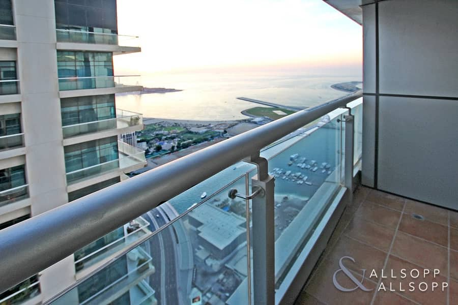 2 High Floor | Full Sea Views | Spacious 1 Bed