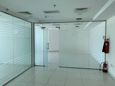 Office for Rent in Al Barsha, Dubai - DIRECT FROM LANDLORD no commission! Chiller Free Fitted Office with Partition In Al Barsha 1