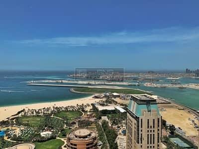 فلیٹ 4 غرفة نوم للبيع في دبي مارينا، دبي - Panoramic views of the palm and Dubai eye