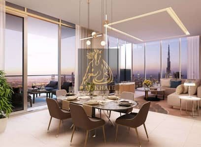 2 Bedroom Apartment for Sale in Business Bay, Dubai - Opulent 2BR Duplex for sale in Downtown Dubai | Easy Payment Plan | Scenic Canal View